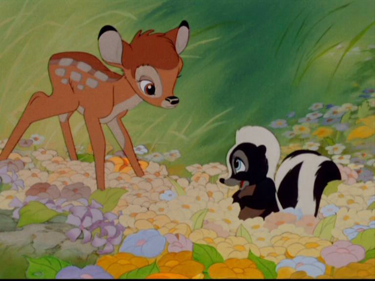 Bambi and Thumper Bambi