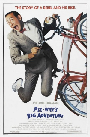 pee wees big adventure 1985 poster Click for a free nude preview