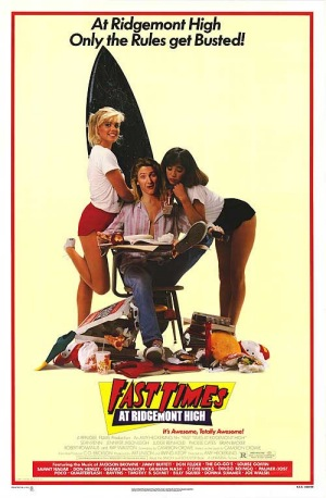 Fast Times at Ridgemont High 1982 poster
