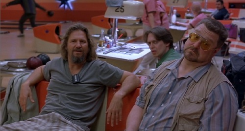 Big Lebowski 1998 Jeff Bridges Steve Buscemi John Goodman