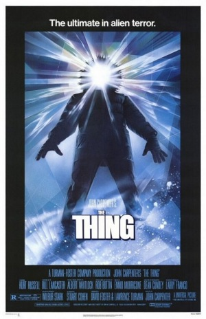 The Thing, 1982, poster