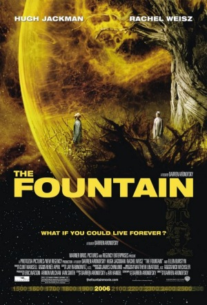 The Fountain 2006 U.S. poster