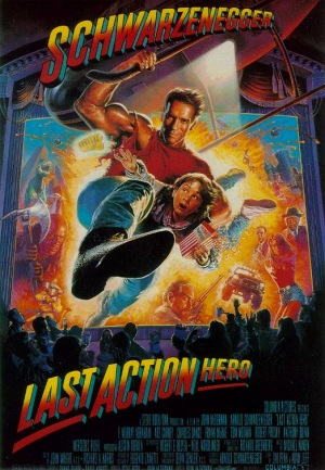 Last Action Hero 1993 poster