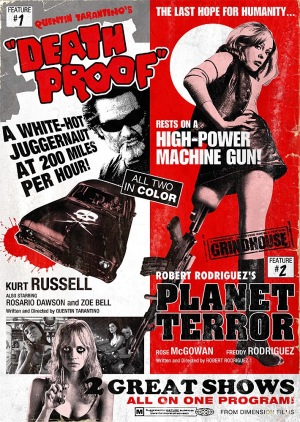 Grindhouse 2007 poster