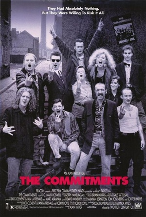 The Commitments 1991 poster