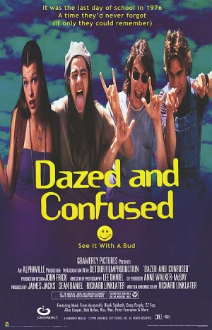Dazed and Confused, 1993, poster