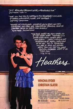 Heathers 1989 poster