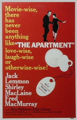 The Apartment, 1960, poster