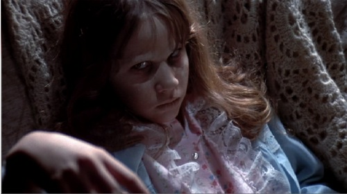 "Linda Blair in ""The Exorcist"""