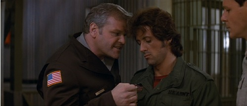 First Blood, 1982, Brian Dennehy, Sylvester Stallone
