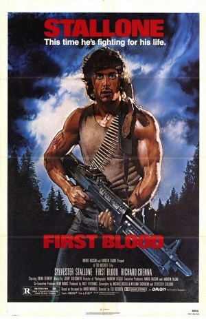 First Blood, 1982, poster
