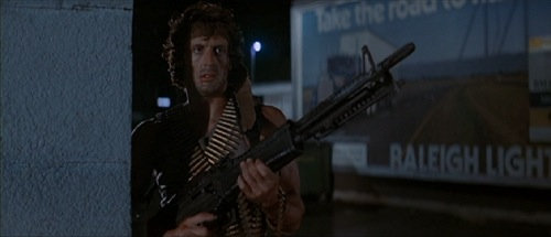 First Blood, 1982, Sylvester Stallone