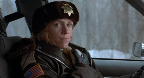 Frances McDormand, Fargo, 1996