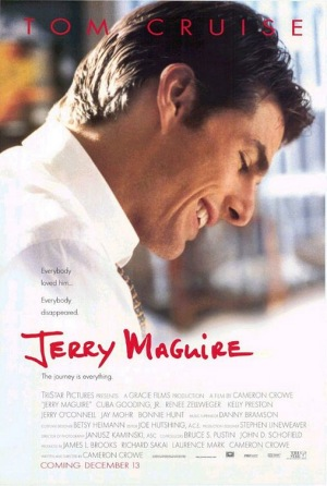 Jerry Maguire, 1996, poster