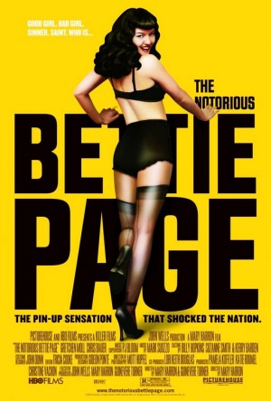 The Notorious Bettie Page, 2006, poster