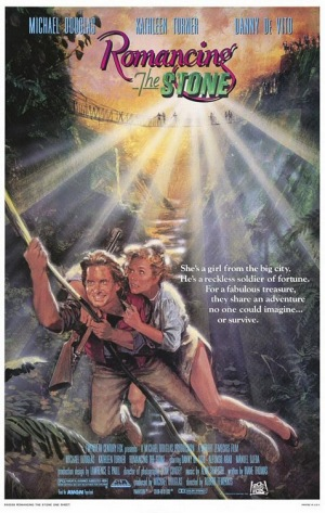 Romancing the Stone, 1984, poster