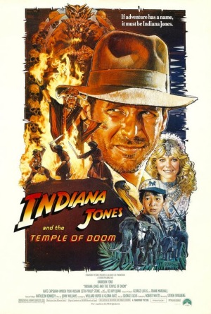 Indiana Jones and the Temple of Doom, 1984, poster
