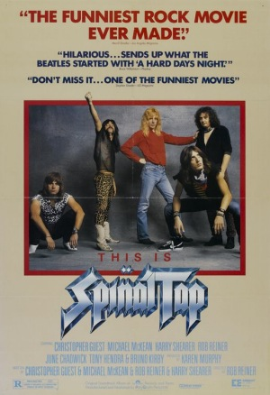 This Is Spinal Tap, 1984, poster