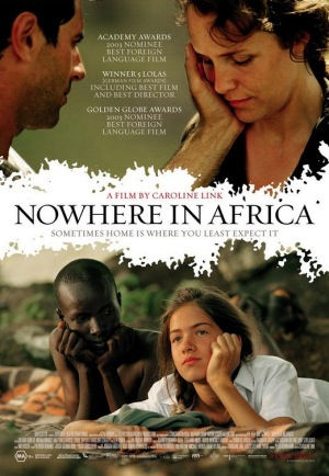 Nowhere in Africa, 2001, poster