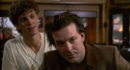 Pope of Greenwich Village, Eric Roberts, Mickey Rourke