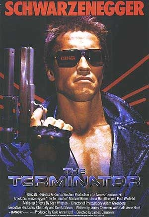 The Terminator, 1984, poster