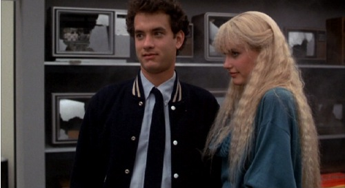 Splash, 1984, Tom Hanks, Daryl Hannah