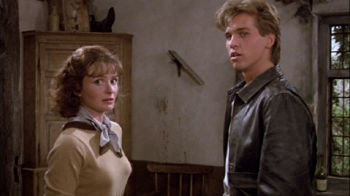 Top Secret!, 1984, Lucy Gutteridge, Val Kilmer