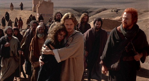 Last Temptation of Christ 1988 Barbara Hershey Willem Dafoe Harvey Keitel