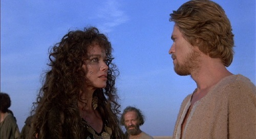 Last Temptation of Christ 1988 Barbara Hershey Willem Dafoe
