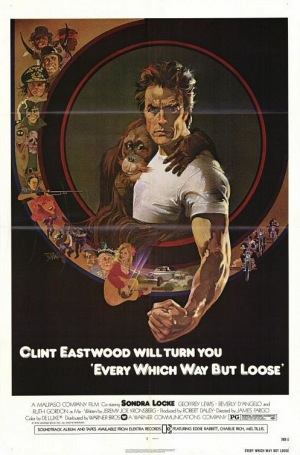Every Which Way But Loose 1978 poster