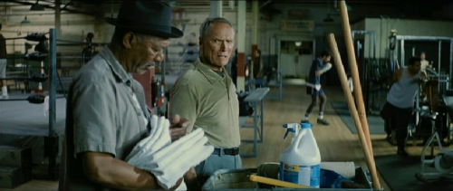 Million Dollar Baby 2004 Morgan Freeman Clint Eastwood