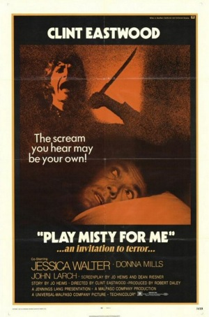 Play Misty For Me 1971 poster