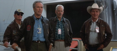 Space Cowboys 2000 James Garner Clint Eastwood Donald Sutherland Tommy Lee Jones