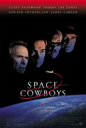 Space Cowboys 2000 poster A