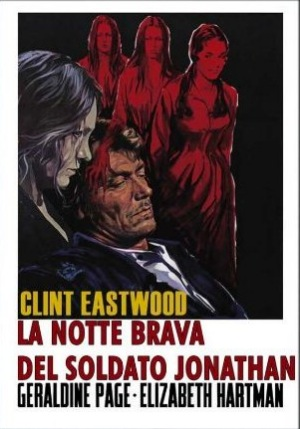 The Beguiled Italian poster