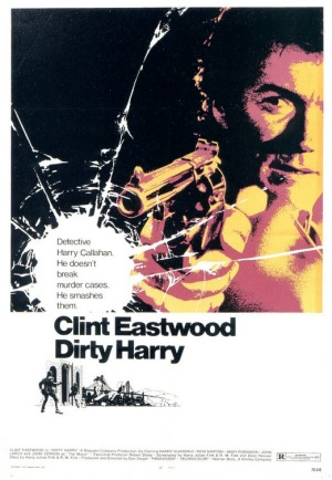 Dirty Harry 1971 poster