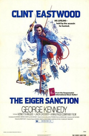 Eiger Sanction 1975 poster A