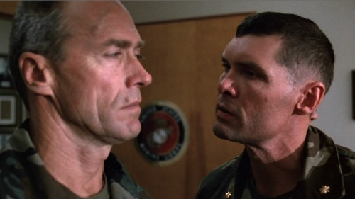 Heartbreak Ridge 1986 Clint Eastwood Everett McGill