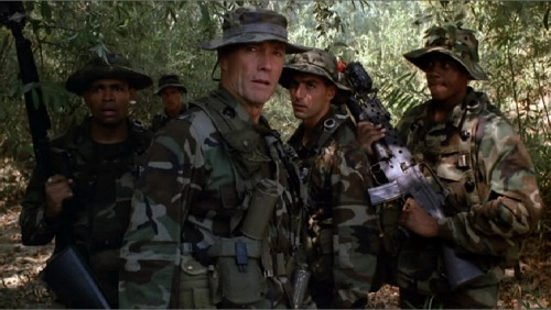 Heartbreak Ridge 1986 Mario Van Peebles Clint Eastwood Vincent Irizarry Rodney Hill