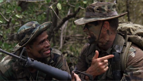 Heartbreak Ridge 1986 Mario Van Peebles Clint Eastwood