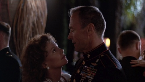 Heartbreak Ridge 1986 Marsha Mason Clint Eastwood