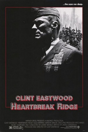 Heartbreak Ridge 1986 poster