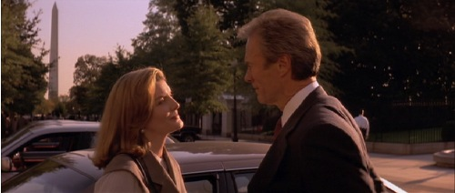 In The Line of Fire 1993 Rene Russo Clint Eastwood
