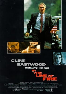 In The Line of Fire poster B