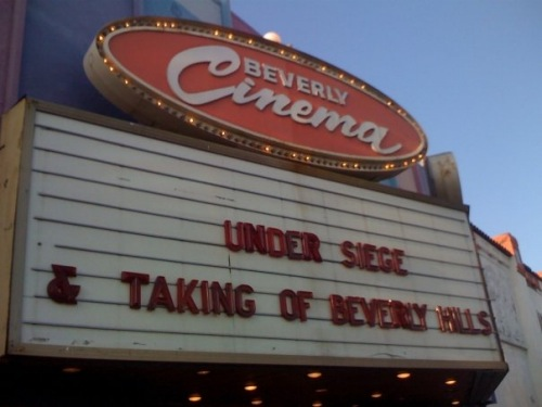New Beverly marquee 1
