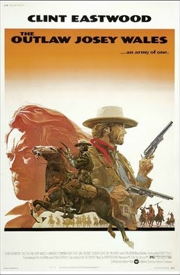 Outlaw Josey Wales 1976 poster B