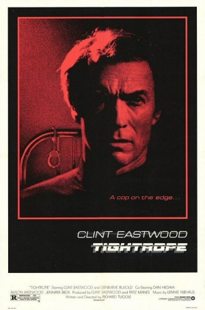 Tightrope 1984 poster A