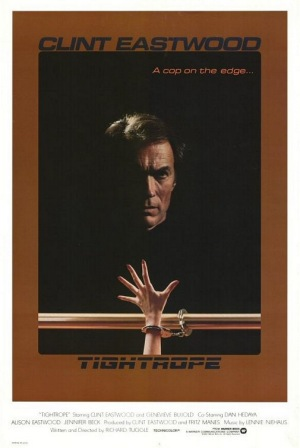 Tightrope 1984 poster B