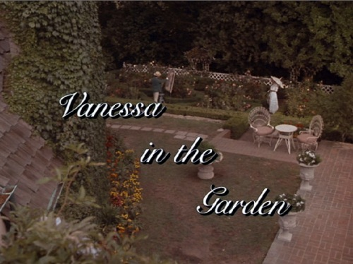 Vanessa In the Garden 1985