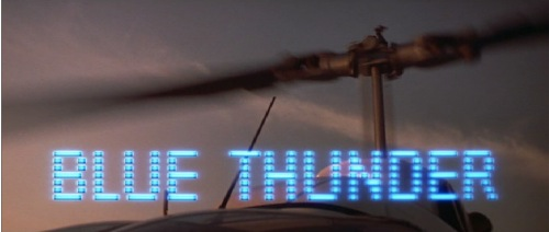 Blue Thunder 1983 title card